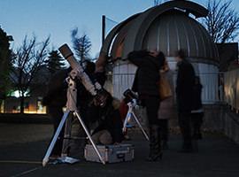 小型望遠鏡による天体観望